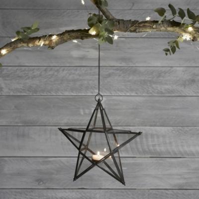 Hanging Tealight Star