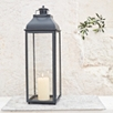 Indulgence Pillar Candle Lantern