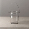 Glass Jam Jar Lantern - Large