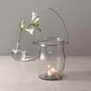 Glass Jam Jar Lantern - Large