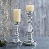 Mercury Pillar Medium Candle Holder