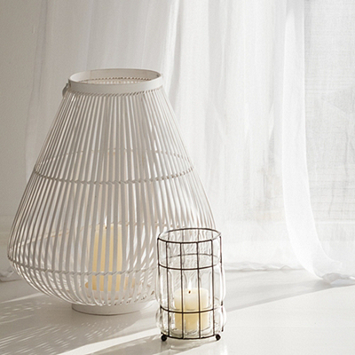 Bamboo Lantern - The White Company