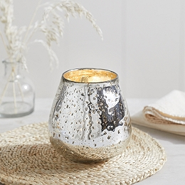 Medium Organic Mercury Tealight Holder