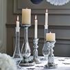 Portofino Glass Candlestick