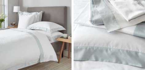 Camborne Bed Linen Collection - Eau de Nil