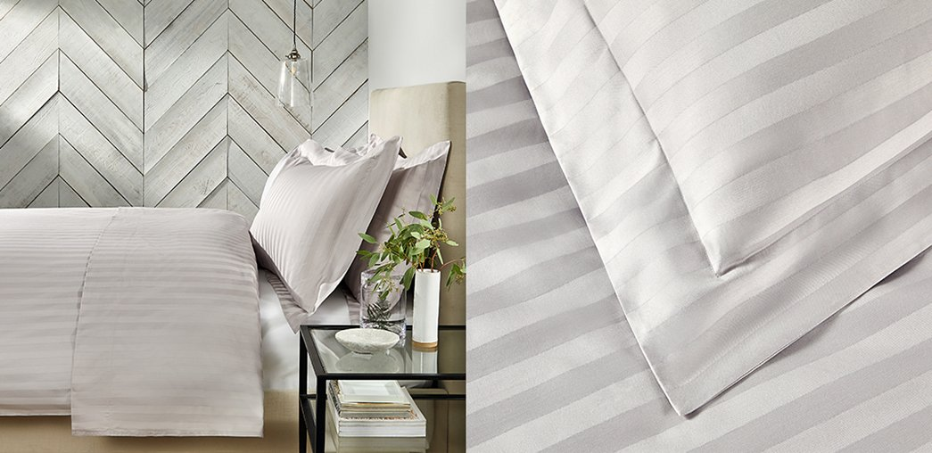 Cambridge Stripe Bed Linen Collection