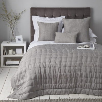 Carrington Quilt - Soft Slate