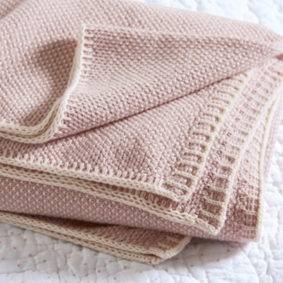 Cotton-Cashmere Baby Blanket