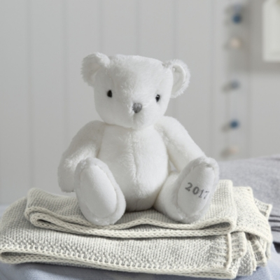 Cashmere Blend Blanket - Gray