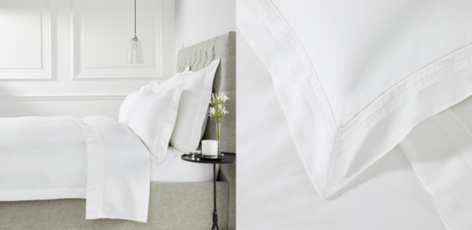 Cavendish Bed Linen Collection - White