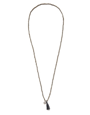 Crystal Bead Pave Necklace
