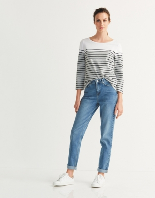 Color Block Breton Stripe T-Shirt