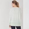 Cashmere Color Block Striped Sweater