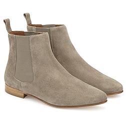 Suede Chelsea Boots - Mink