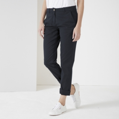 Clean Chino Pants - Navy