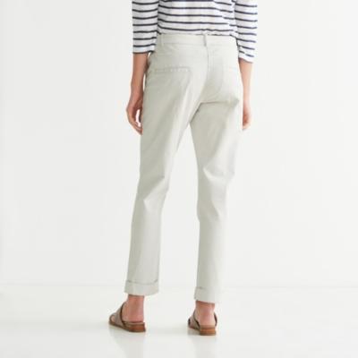 Clean Chino Pants - Gray