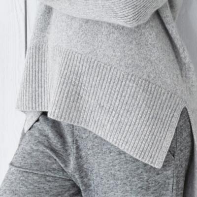 Cashmere Chunky V Neck Sweater