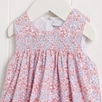 Coco Floral Sleeveless Smocked Dress