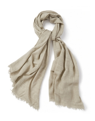 Wool Silk Cold Dyed Scarf