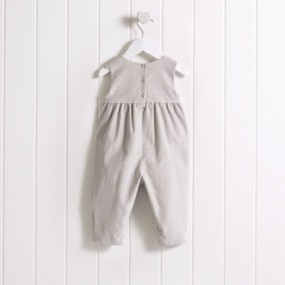 Baby Girls' Corduroy Dungarees