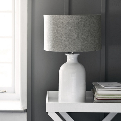 Ceramic Bottle Table Lamp Lighting Home Accessories Home The White Company Uk