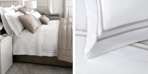 Charlton Bed Linen Collection - Natural