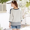 Chunky Colorblock Sweater