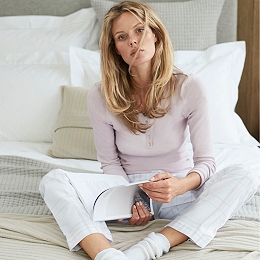 Check Pajama Bottoms