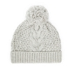 Wool Cable Bobble Hat