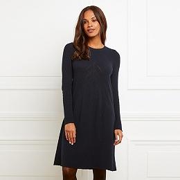 Chevron Swing Knitted Dress