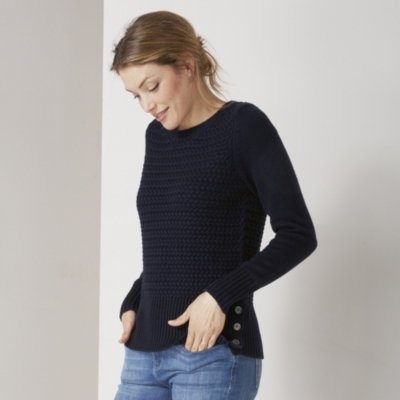 Chunky Cross Stitch Sweater