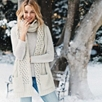 Chunky Cable Pocket Scarf