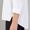 Curved Hem Rectangle Shirt