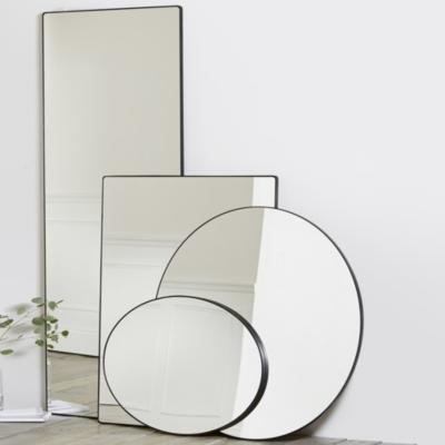 Chiltern Thin Metal Oval Mirror