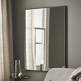 Chiltern Thin Metal Rectangular Mirror