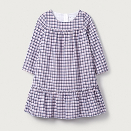 Check Flannel Dress (1-6yrs)