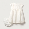 Silk Smocked Dress