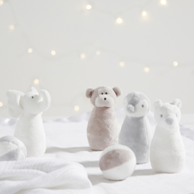 Animal Skittles Toy - Set of 4 - The White Company