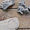 Circular Pendant Necklace - Silver