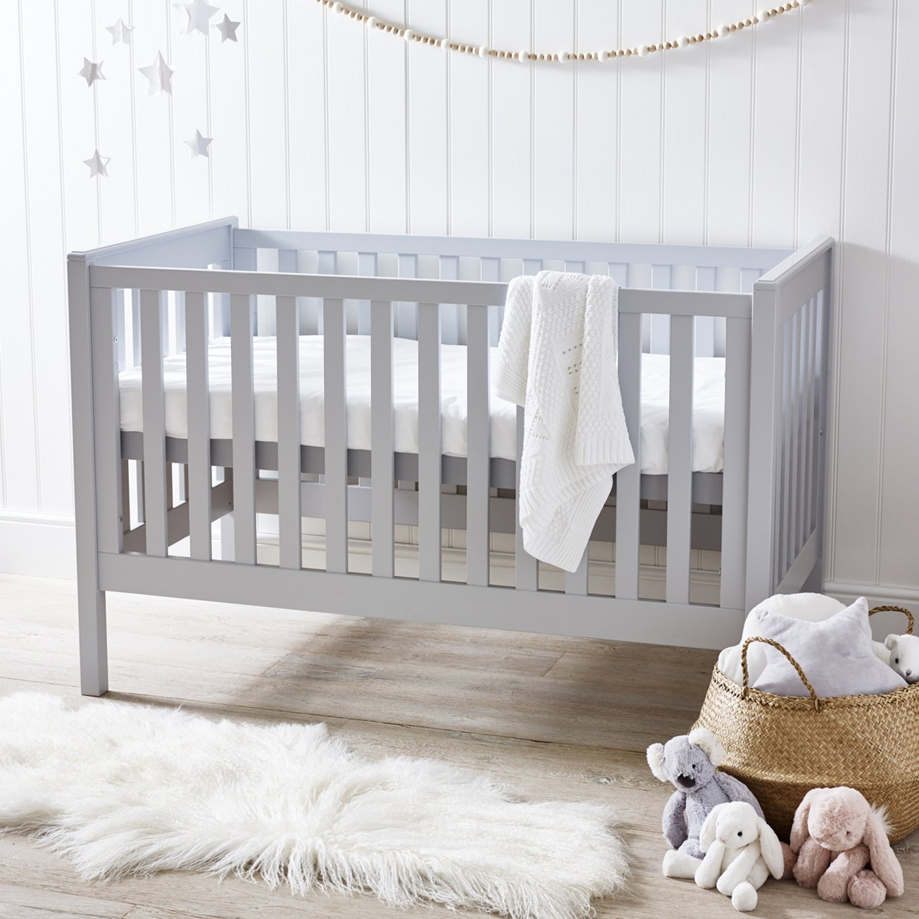 The rich birch bed is THE only early years bed that you will need. When you baby is small the cot will house them with ease. As they start to get older the cot can then be converted into a junior bed and the mattress can be lowered. This means that you do not need to fork out on another bed in their first few years. - £425.00