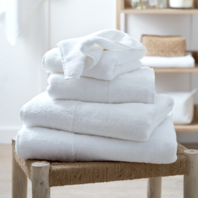 Classic Hydrocotton Towels - White