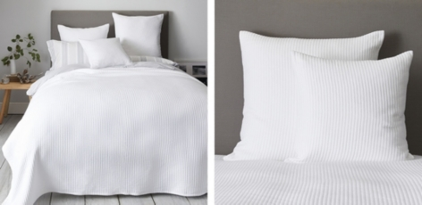 Classic Rib Bedspread & Cushion Covers
