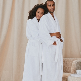 Unisex Cotton Classic Robe