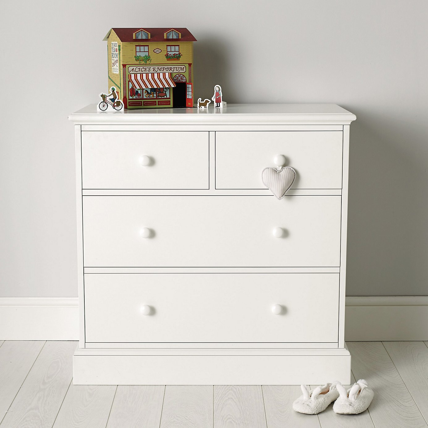 White chest of drawers nursery thenurseries