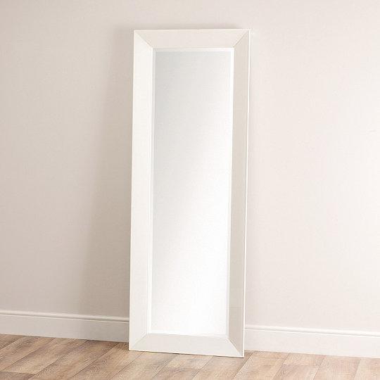 white full length mirror. Exellent Mirror Carlton Glass Framed Full Length Mirror Intended White