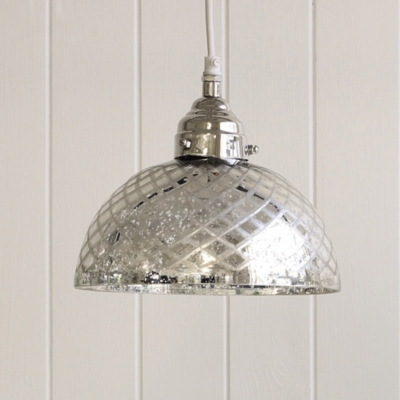 Antiqued Cut-glass Ceiling Light