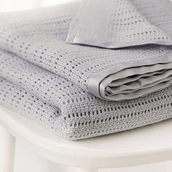 Cellular Blanket - Grey