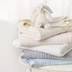 Satin Edged Baby Cot Blanket - Gray