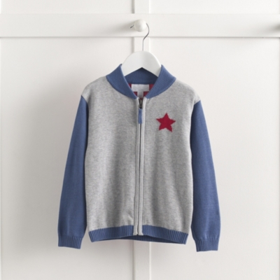 Colorblock Knitted Jacket (1-5yrs)