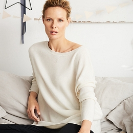 Cashmere Slouchy Sweater
